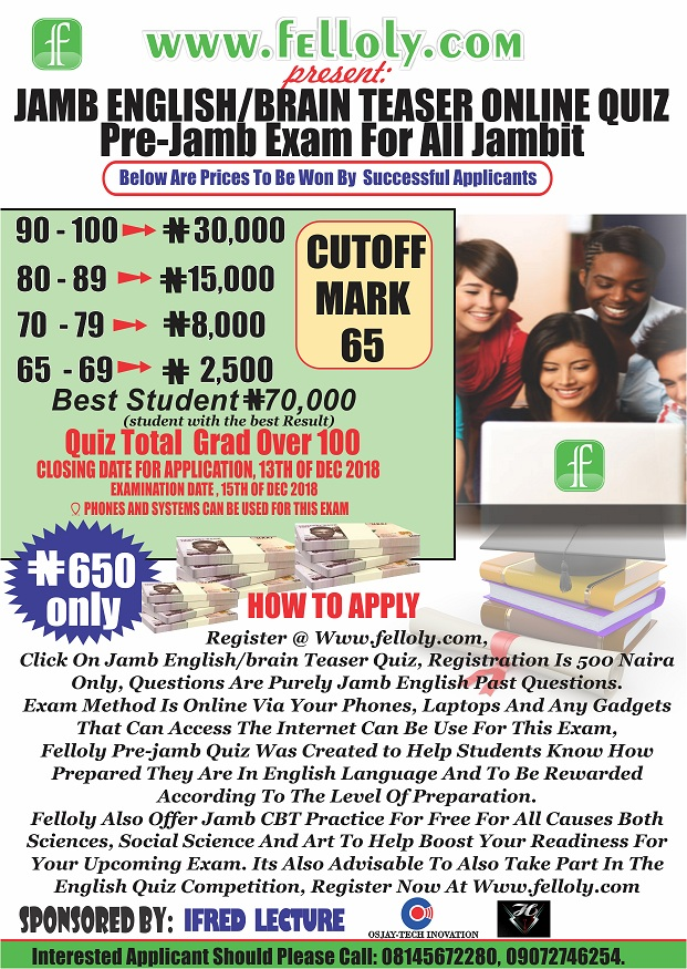 Post Image 1 |  This is the first of its kind don't miss out, => Jamb Utme Connect - My Exam Point