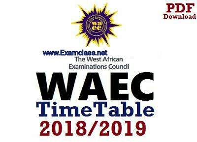 2019/2020 WAEC SPECIMEN FOR PHYSICS, CHEMISTRY, BIOLOGY, AGRIC
